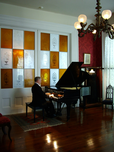 Natchez Trace Entertainment in the Antebellum Music Room